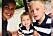 Lisa med barnen Vincent och Teodor