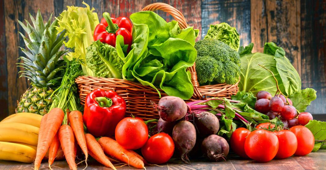 Så säger färgen om näringsinnehållet i maten.