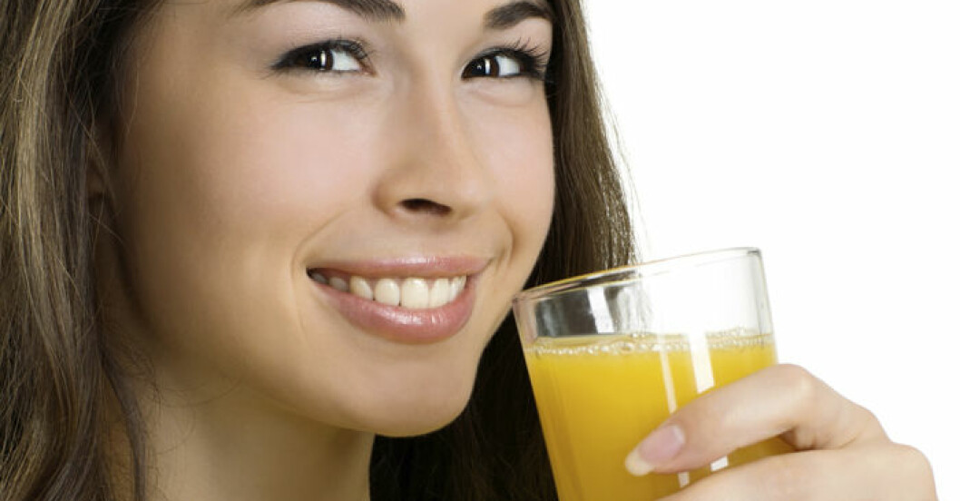 Färskpressad juice innehåller mängder av vitaminer, mineraler och antioxidanter.