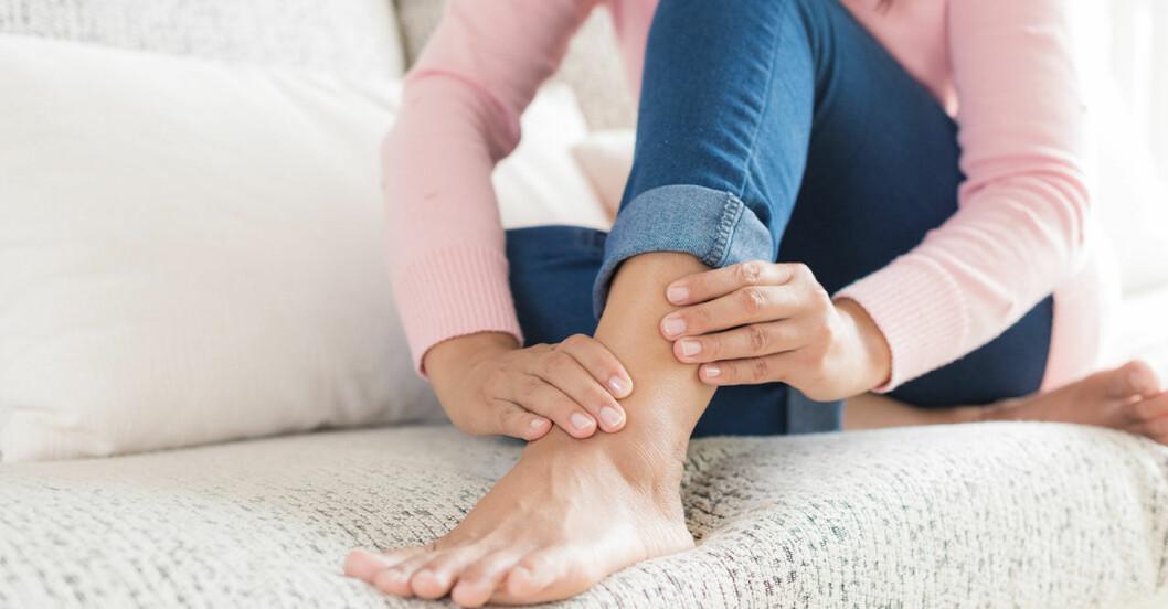 Kramper i benen kan vara ett tecken på högt blodsocker