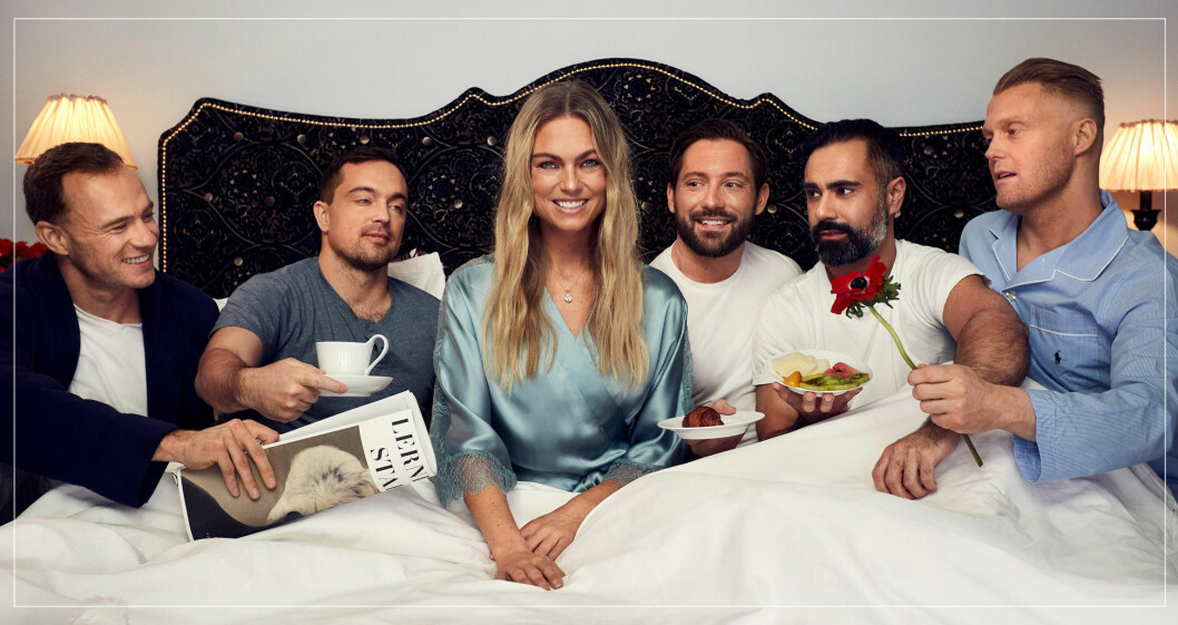 Alexandra i Fem killar i veckan i TV4 2021.