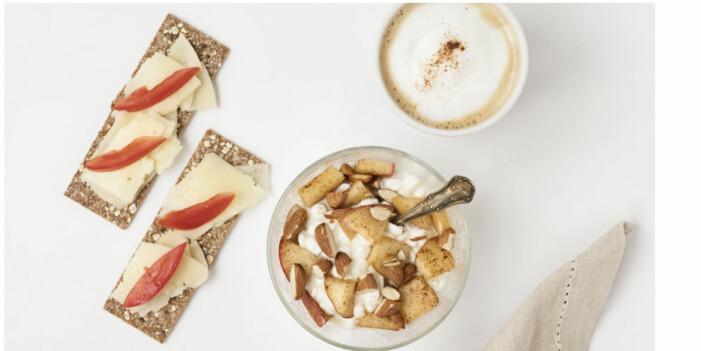 Finncrisp till frukost med tillbehör