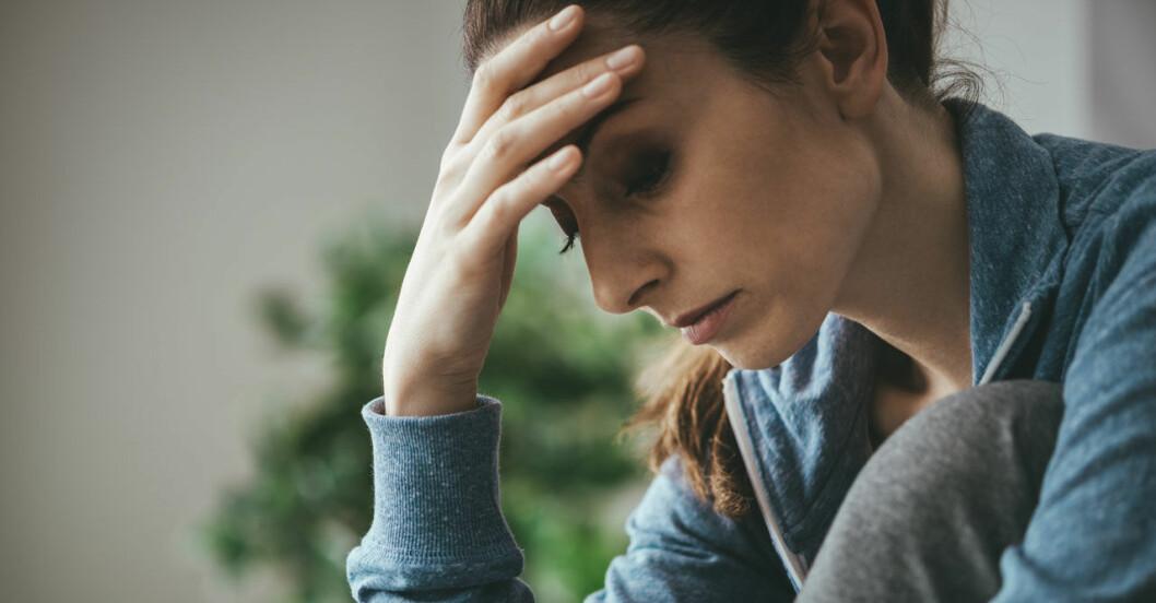En känsla av PMS som aldrig går över kan vara förklimakteriet.