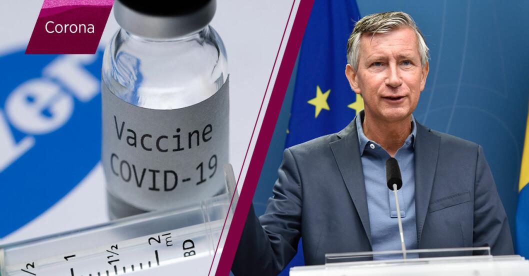 Första vaccinet mot covid-19 godkänt - så påverkar det Sverige
