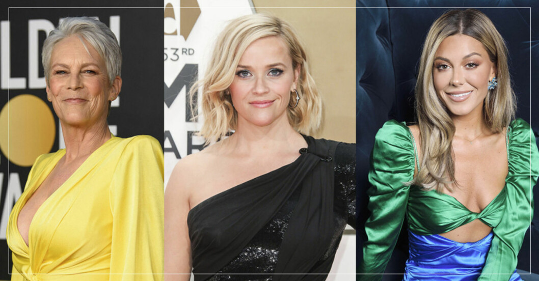 jamie lee curtis, reese witherspoon och bianca ingrosso