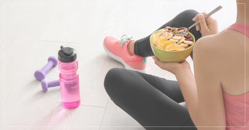 frukost före träning