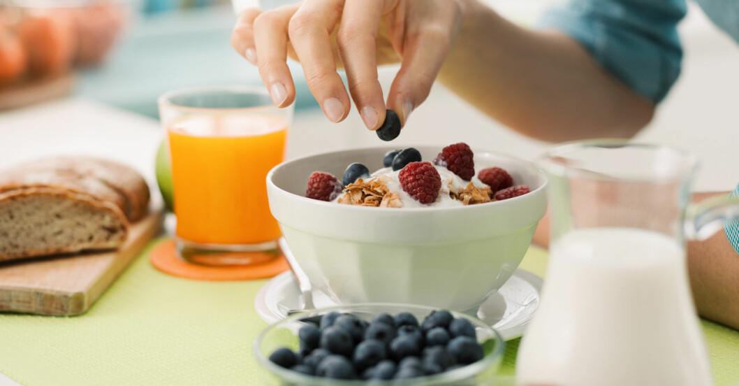 Att äta frukost minskar stress - här är 10 val som boostar effekten