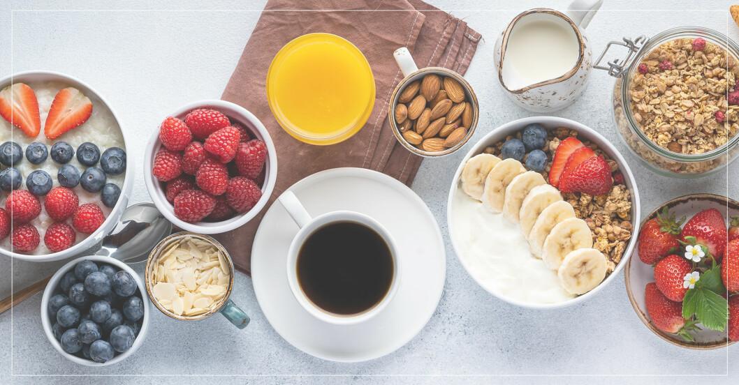 nyttiga frukostar om man vill gå ner i vikt
