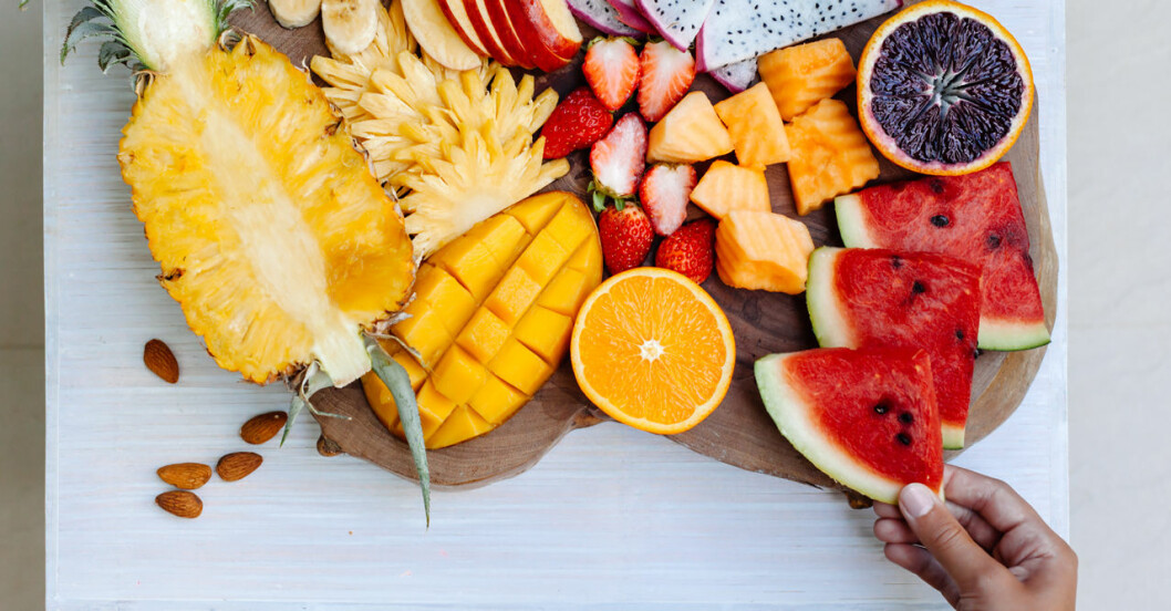 Frukt är bra för diabetiker.