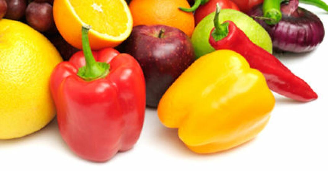 Frukt och grönasker - riktiga hälsobomber! (Bild: Thinkstock)