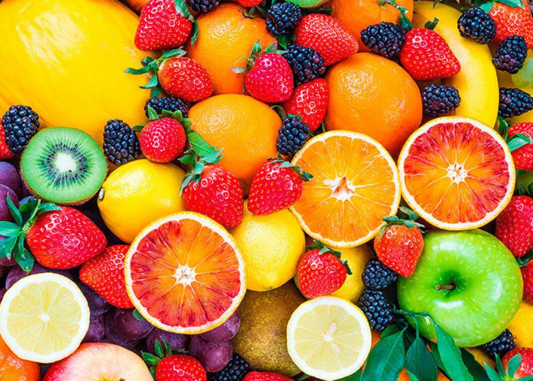 frukt kan ge tanderosion