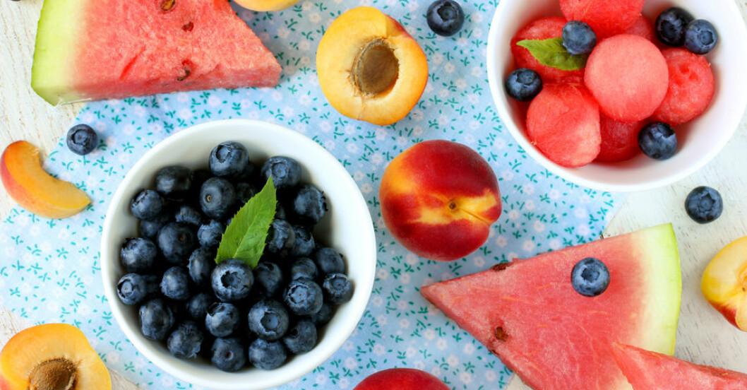 Frukt är godis – så här mycket socker innehåller den.