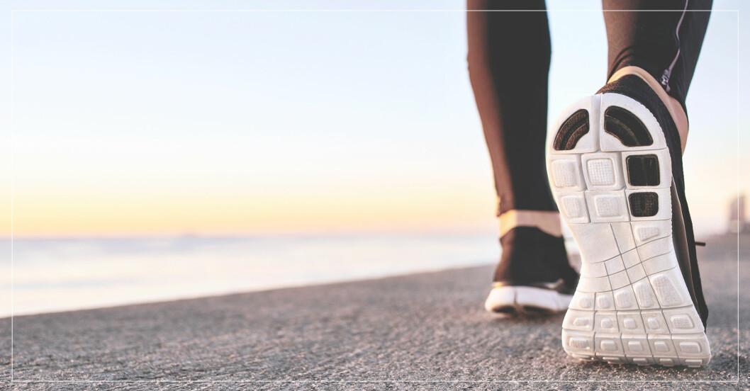 Kvinna går sig i form med program som ökar förbränningen
