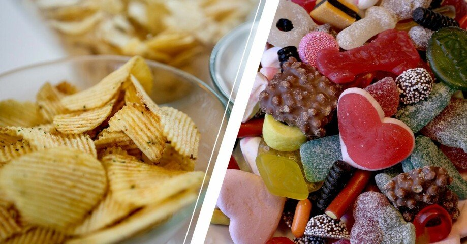 chipskål och godisskål