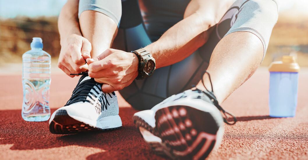 Gör sig redo för träning