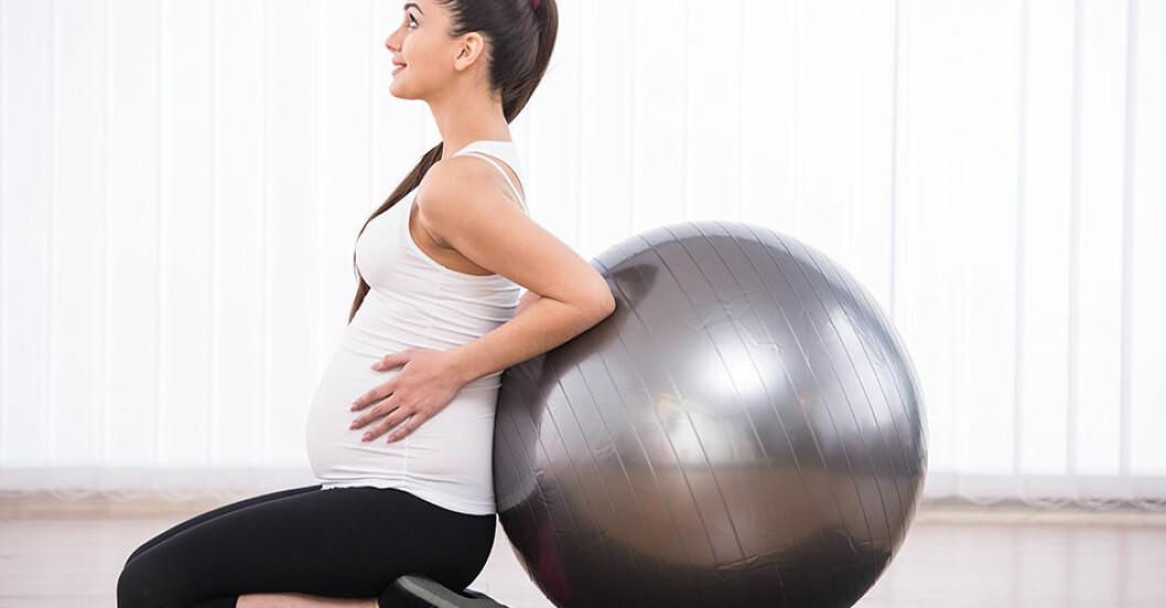 Detta ska du tänka på när du tränar och är gravid.