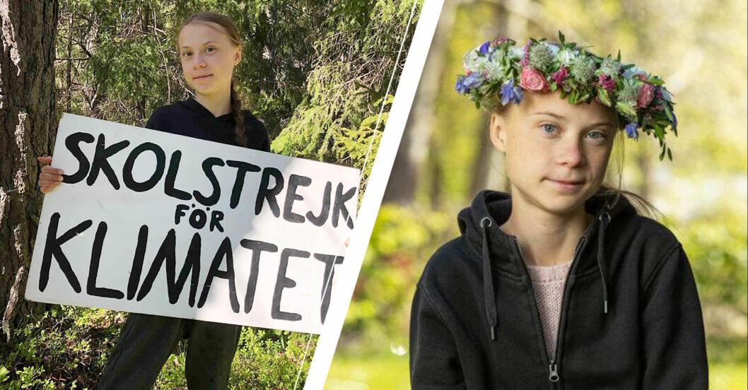 Greta Thunberg Sommar i P1 2020.