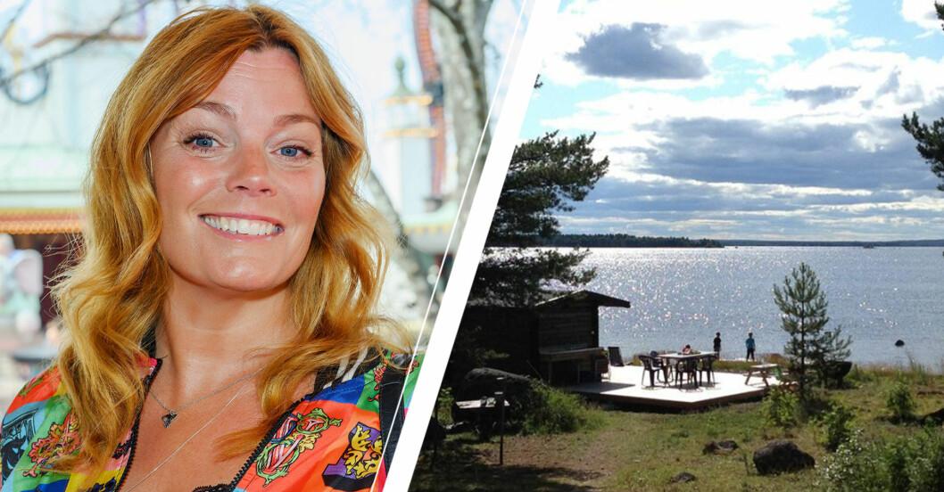 med stort vemod säljer nu gry forrsell landstället i norrboten – efter elva år på platsen.