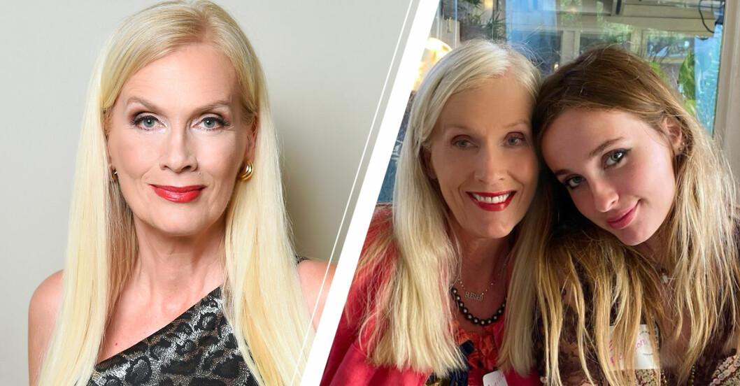 Gunilla Perssons rädsla efter dottern Erikas insjuknande