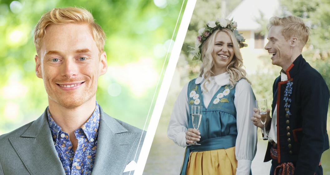 Lars Ekström och Elinor Sundfeldt i Gift vid första ögonkastet säsong 7.