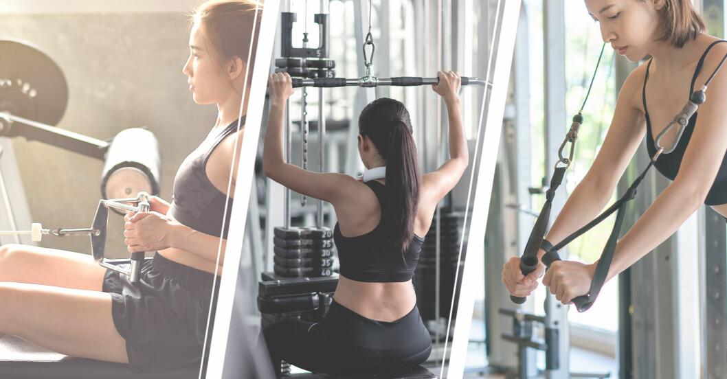 bästa gymmaskinerna