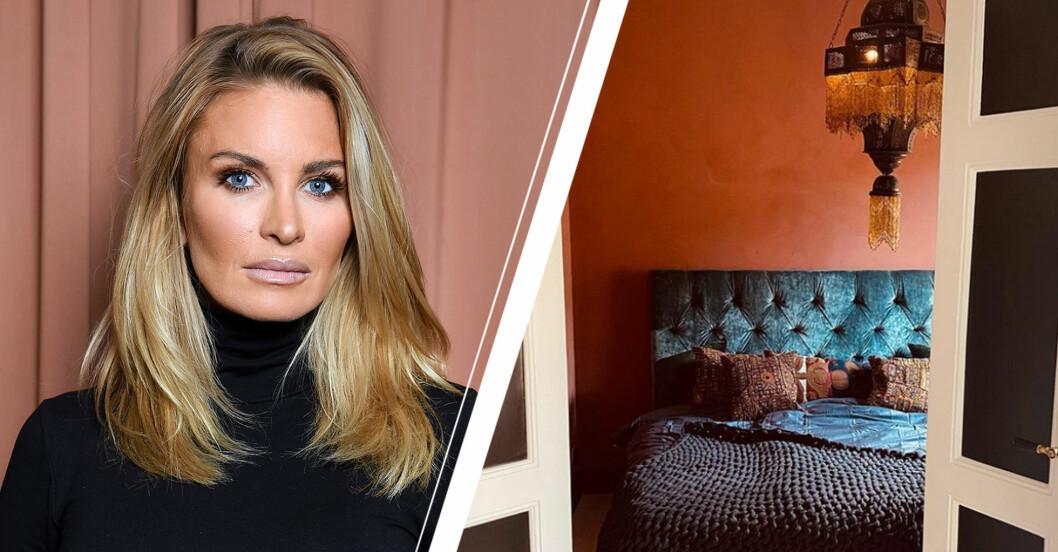 Carolina Gynning visar upp rummen i nya lägenheten – se bilderna