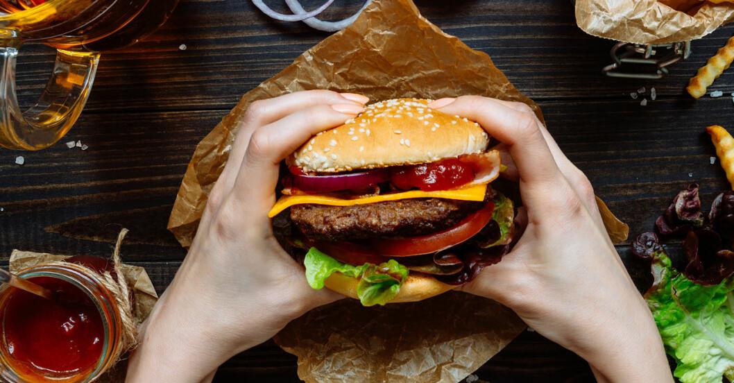 Hur måga kalorier är det i din hamburgare?