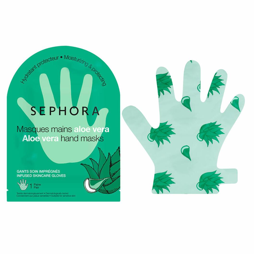 ALoe vera mask för händerna från Sephora