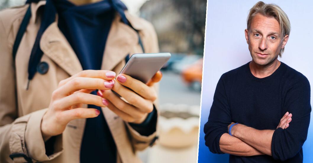 Anders Hansen om personligheten som blir beroende av mobilen.