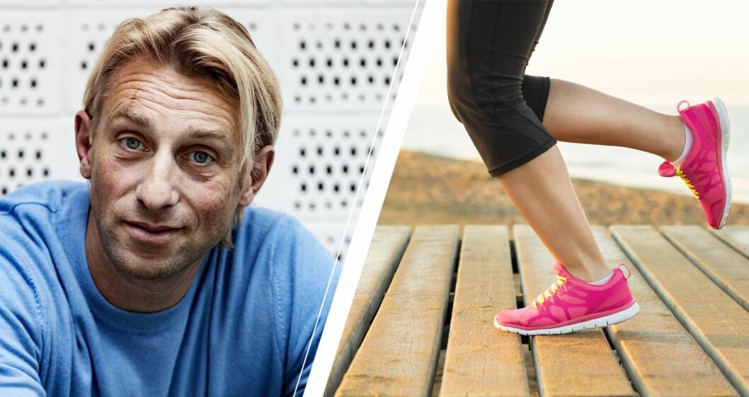 Anders Hansen och springande ben.