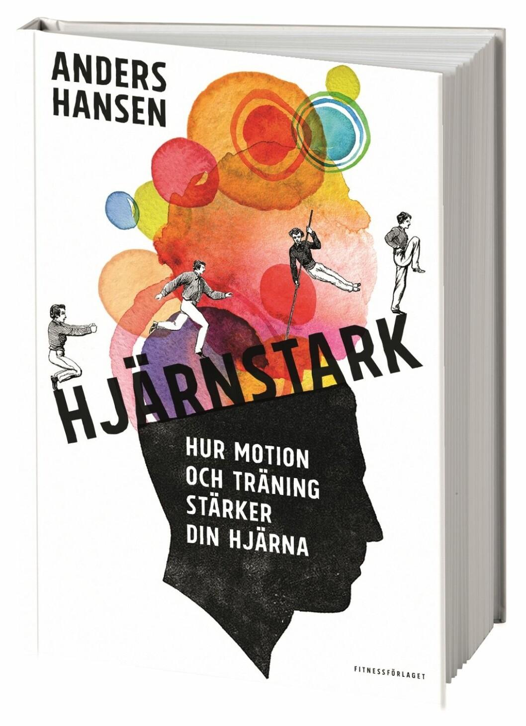 Boken Hjärnstark av Anders Hansen.