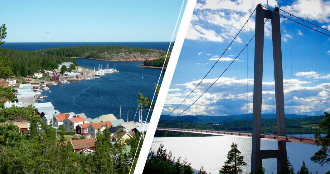 Ulvö och Höga kusten-bron