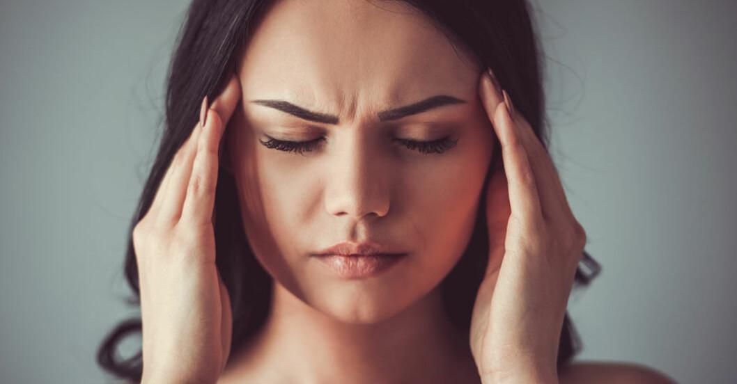 Huvudvärk kan ha många olika orsaker.