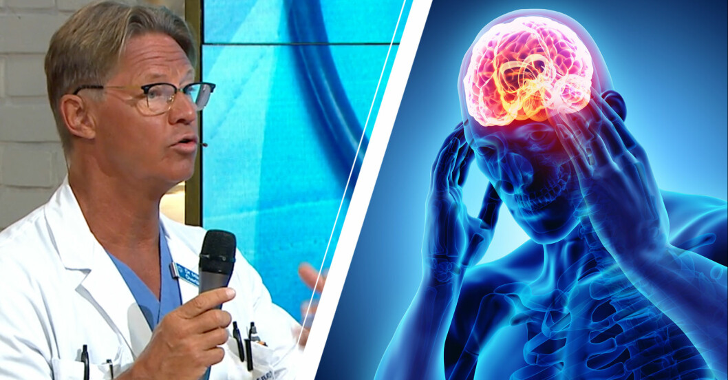 Doktor Mikael Sandstöm om huvudvärk