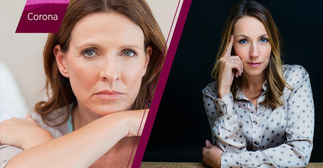 arg kvinna och Anna Bennich