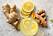 livsmedel ingefära och gurkmeja