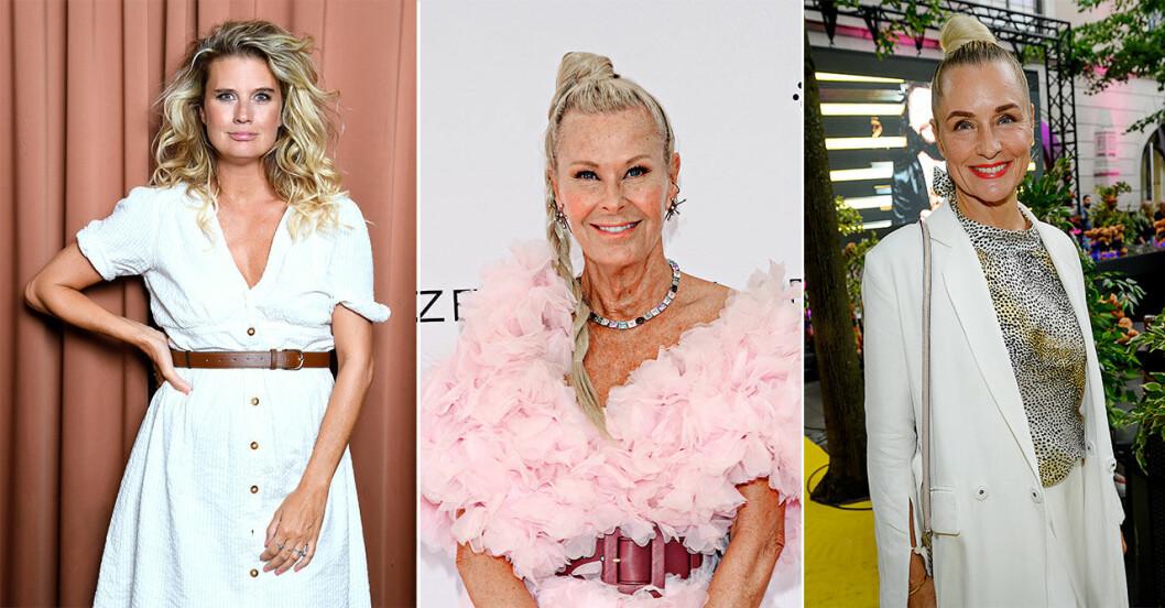 8 kända svenska kvinnor berättar om sin kamp mot cancer.