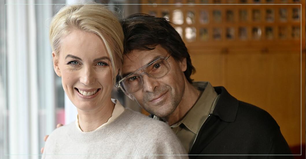 Det skiljer 14 år mellan makarna Jenny & Niklas Strömstedt.