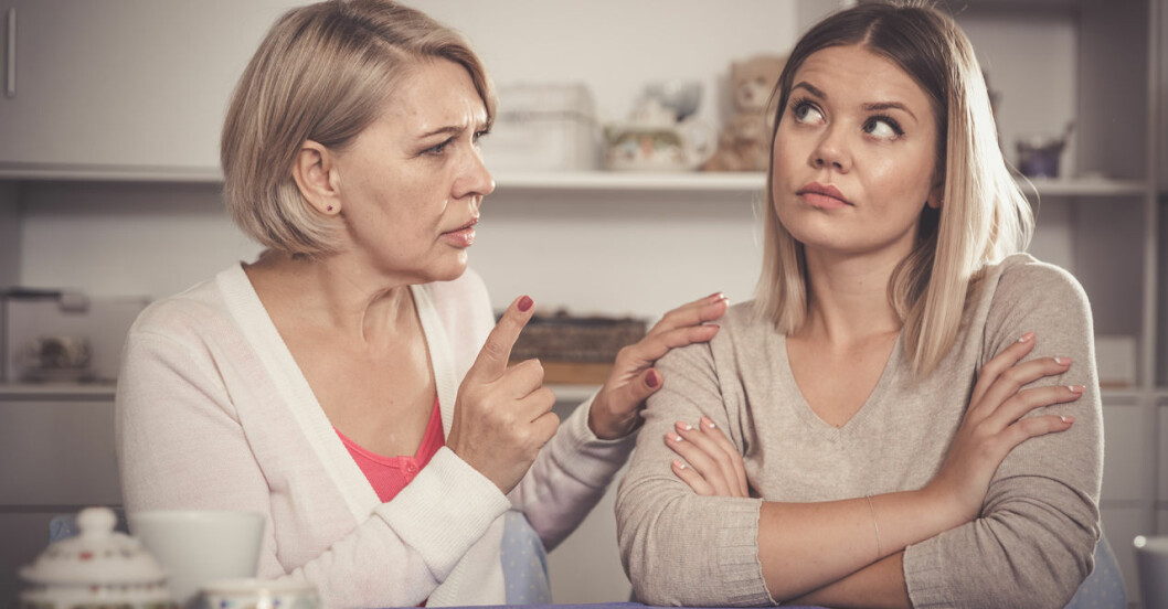 Hur hanterar man en elak mamma?