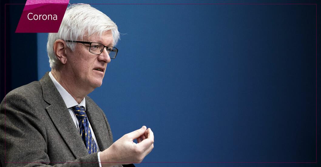 Johan Carlson, generaldirektör Folkhälsomyndigheten