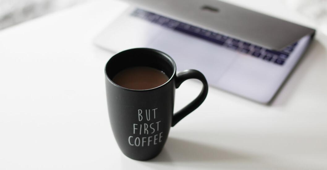 Gå ner i vikt med kaffe.