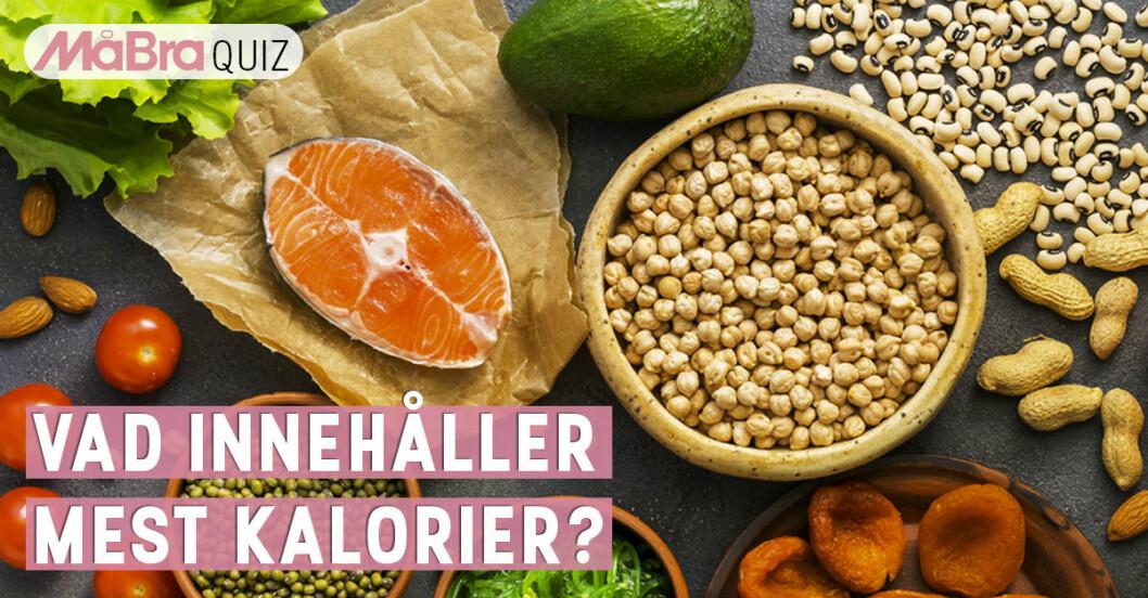 Quiz om kalorier.