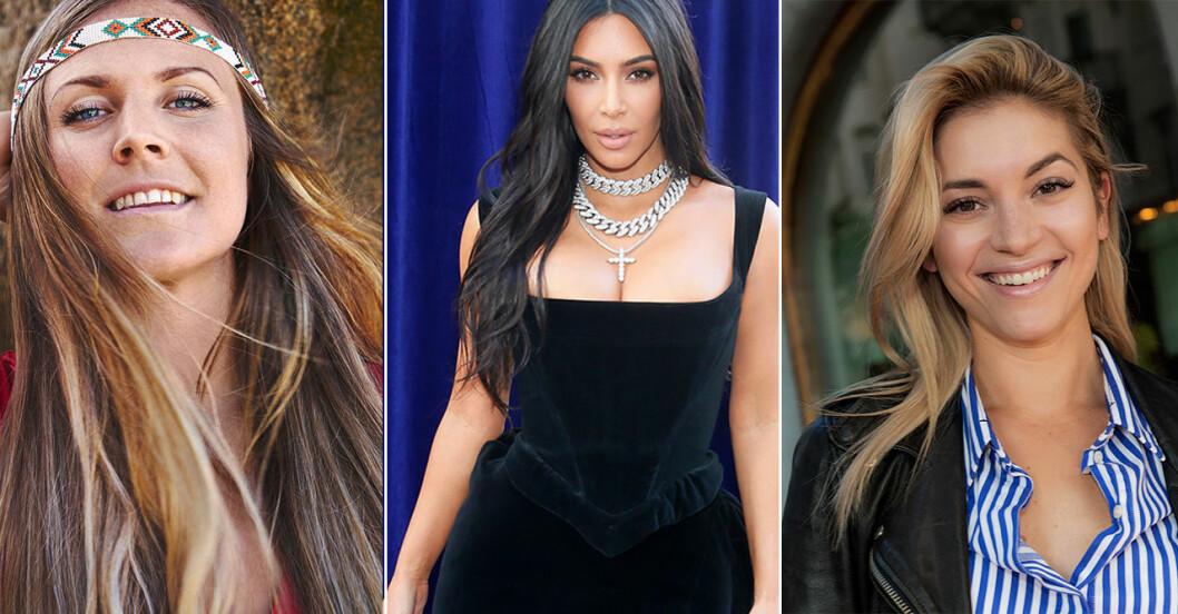Yoga girl, Kim Kardashian och Michaela Forni