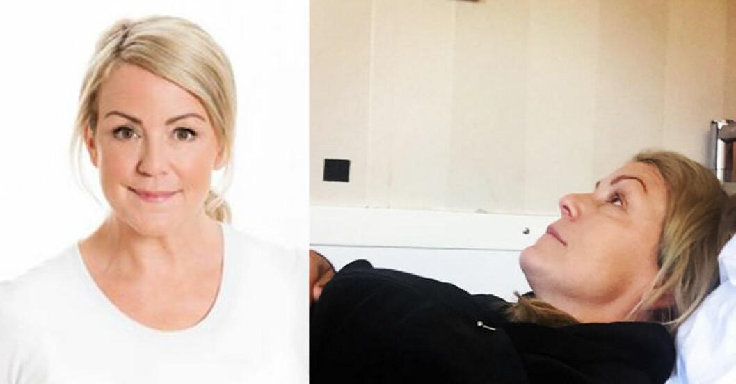 Karin Adelsköld är utbränd