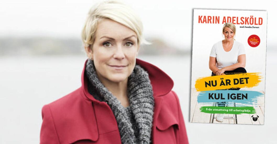 """Karin Adelsköld har skrivit boken """"Nu är det kul igen"""" om utbrändhet."""