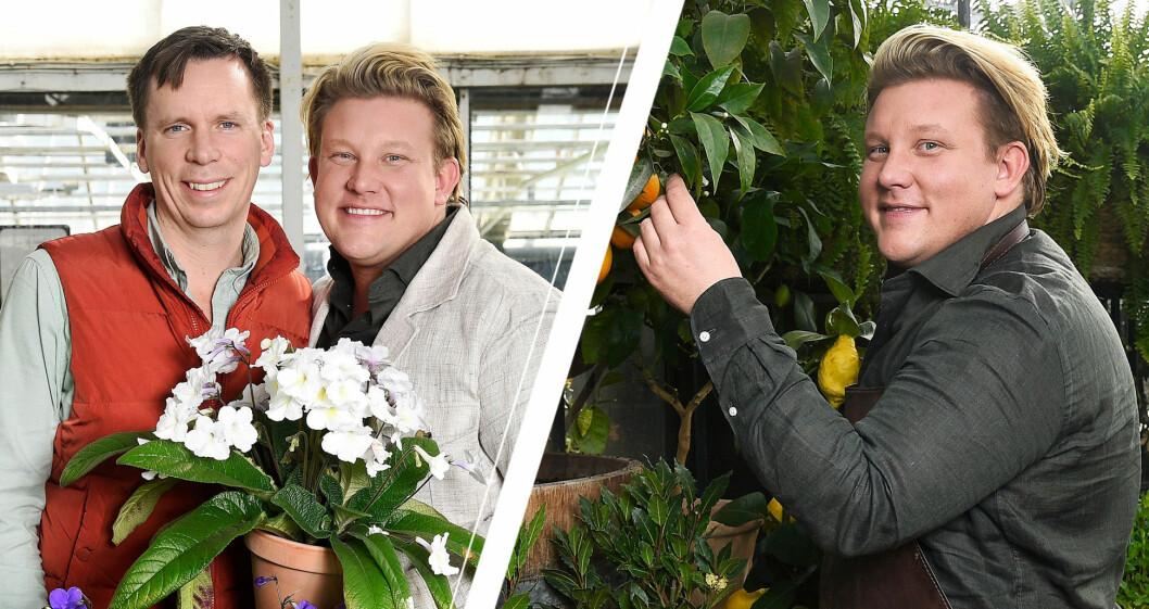 Karl Fredrik Gustafsson på Österlen och Petter Kjellén.