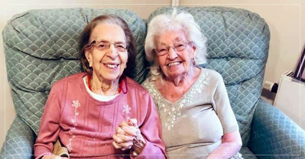 Kathleen Saville och Olive Woodward