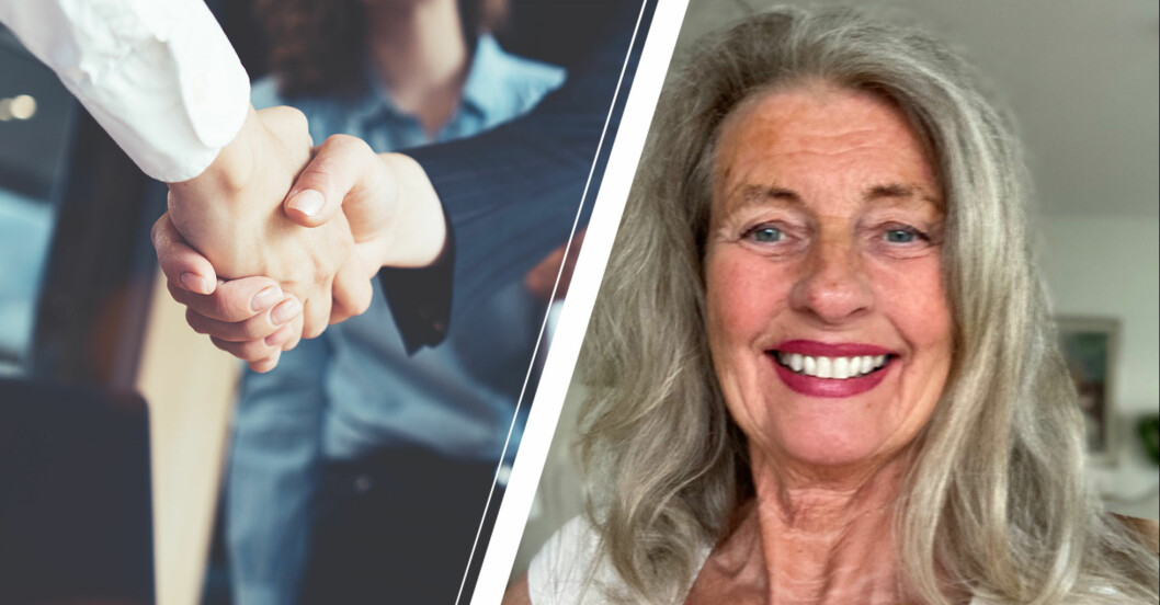 Några som skakar hand/ Kerstin Håglin.