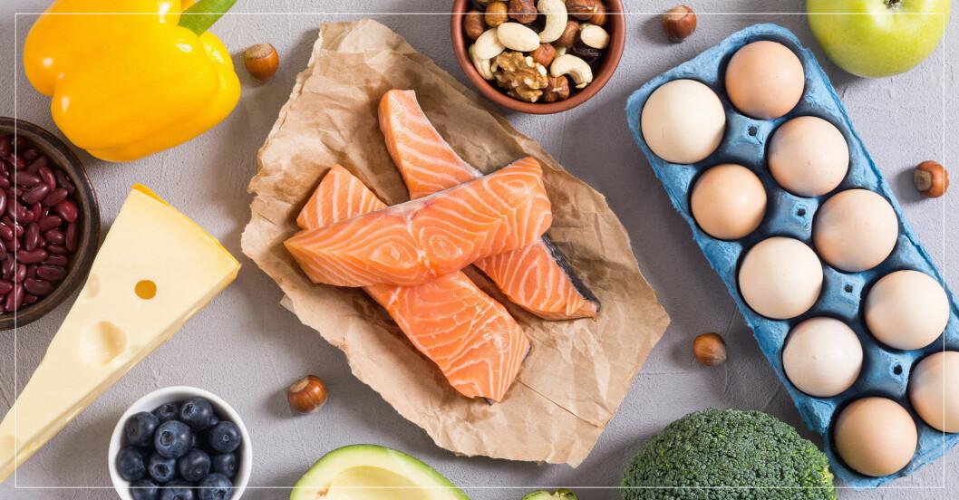 Mat som man kan äta i keto-dieten