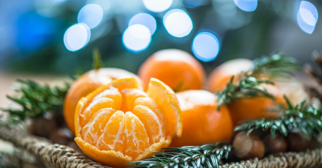 Clementiner kan innehålla nervgift.